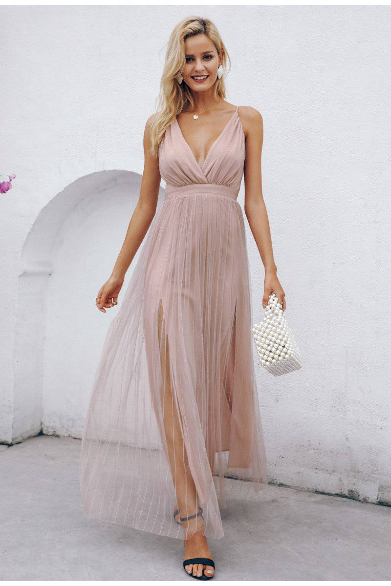 Robe Cocktail Dentelle Longue | Ma Robe Cocktail