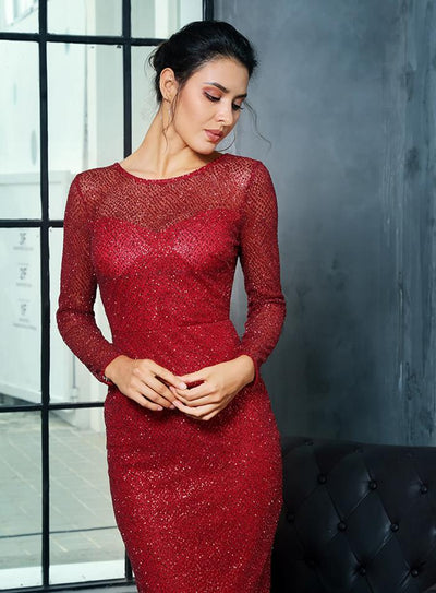 Robe Cocktail Dos Nu Mariage | Ma Robe Cocktail