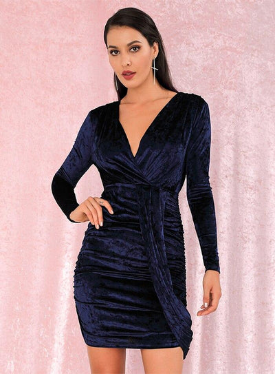 Robe Cocktail Navy | Ma Robe Cocktail
