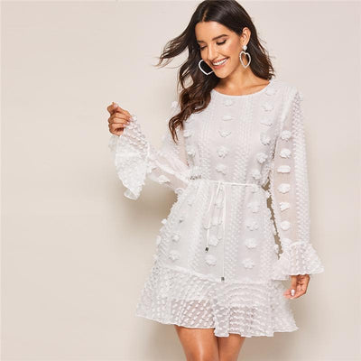 Robe De Cocktail Mariage Blanche | Ma Robe Cocktail