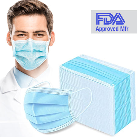 Protective PPE Face Mask - 50pk w/Matching Donation