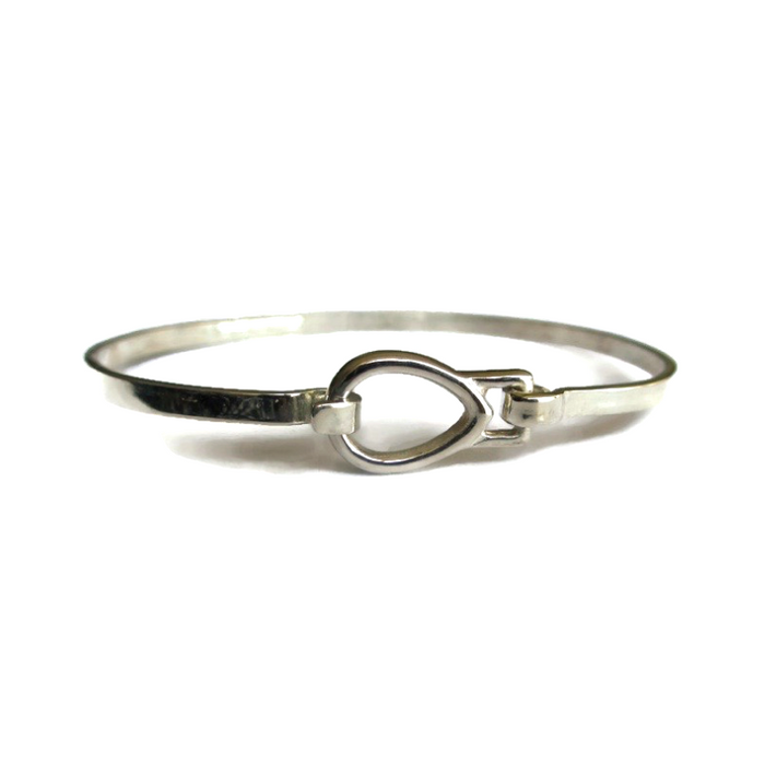 Sterling Silver Contemporary Bangle