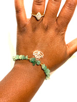 Load image into Gallery viewer, Aventurine Green Bracelet or Anklet