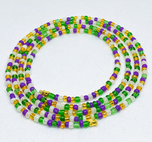 Custom Waist Bead, multi colors