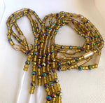 "Load image into Gallery viewer, Goddess Collection Waistbeads 45"" adjustable"