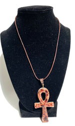 Load image into Gallery viewer, Orgonite® Ankh Necklace