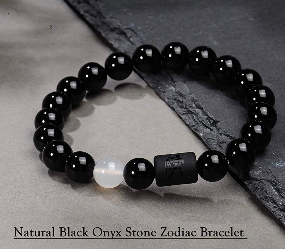 Natural Zodiac Gemstone Bracelet