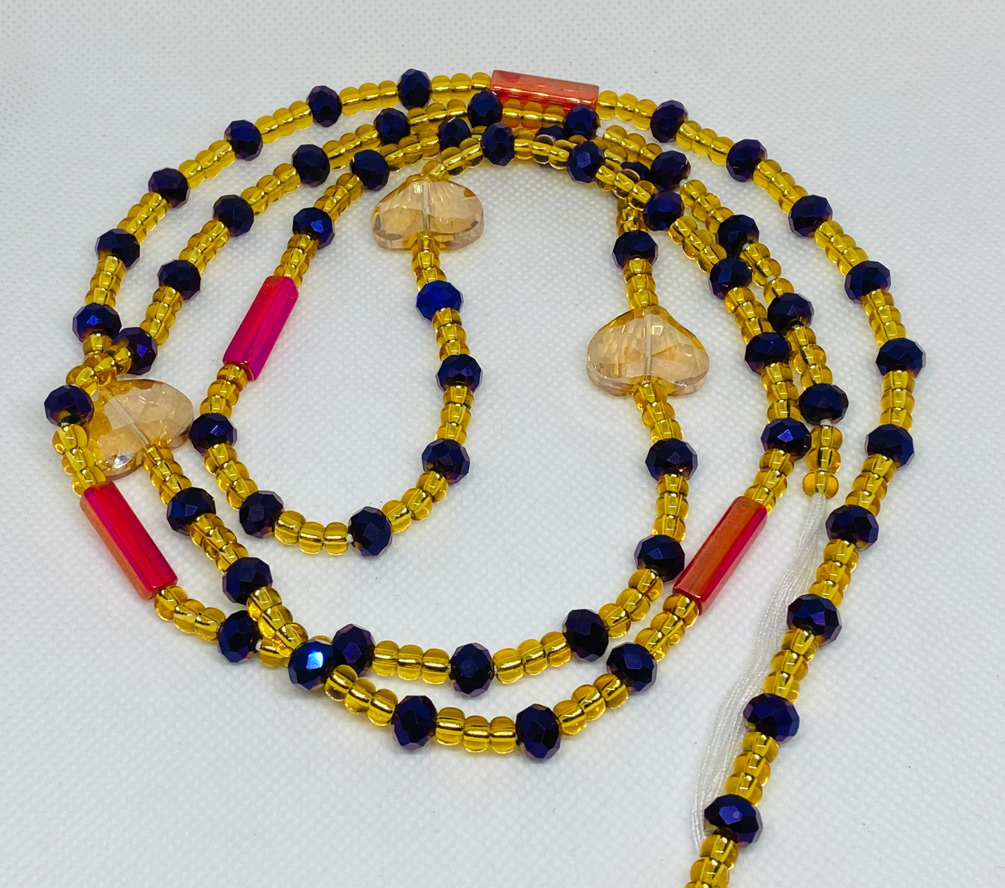 "Goddess Collection Waistbeads 45"" adjustable"