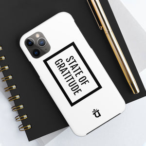 STATE OF GRATITUDE x Case Mate Tough Phone Cases