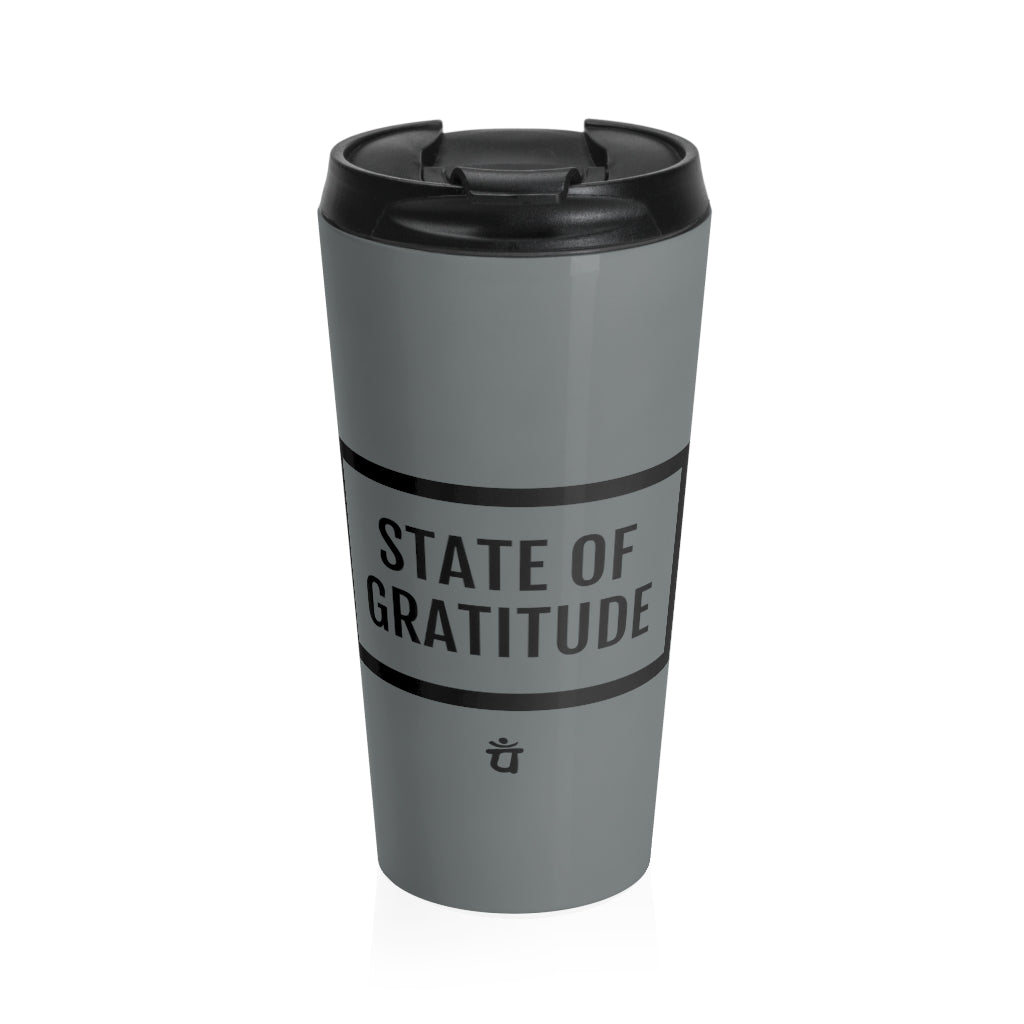 STATE OF GRATITUDE Stainless Steel Travel Mug