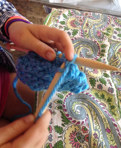 (1A) Late Spring Knitting Class for Ages 8 and up!