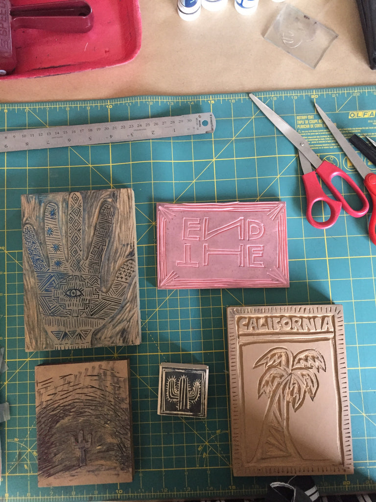 (1a) Moon Stamp Carving