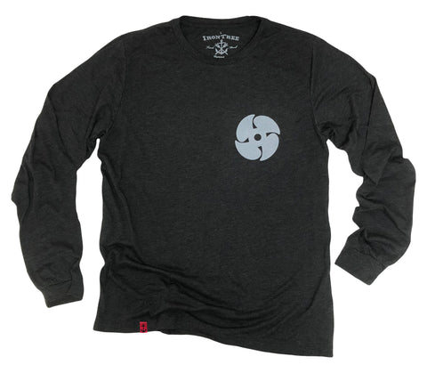c9cb3494f76e IronTree Clothing From $32.00 · Propeller: Long Sleeve Tri-Blend T-Shirt
