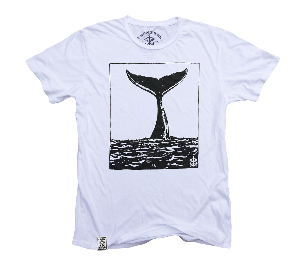 Tale of the Whale: Organic Fine Jersey Short Sleeve T-Shirt