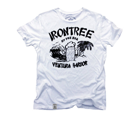 Irontree By The Sea: Organic Fine Jersey Short Sleeve T-Shirt