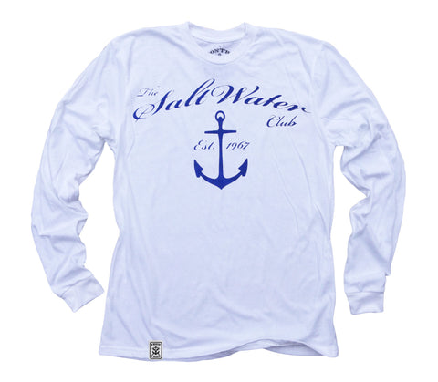 Salt Water Club: Organic Fine Jersey Long Sleeve T-Shirt