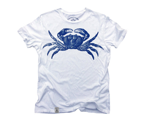 Blue Crab: Organic Fine Jersey Short Sleeve T-Shirt