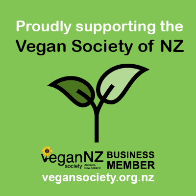Vegan Society Proud Supporter