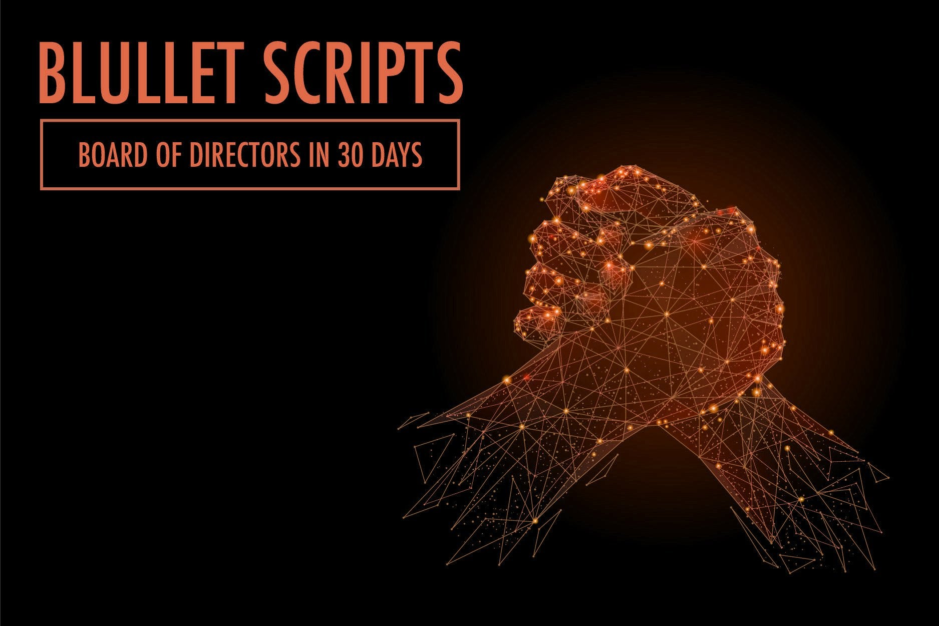 Scripts 1: Board Of Directors In 30 Days Add-On Only Script