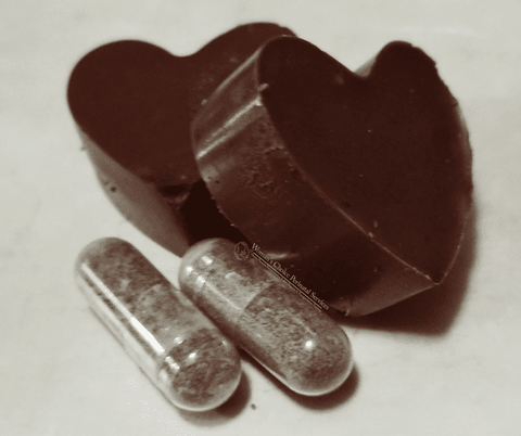 Chocolates made with powdered placenta