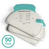 nanobébé 50-Pack Breast Milk Storage Bags Refills