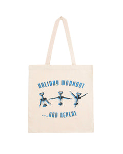 "Totebag ""Holiday Workout"""