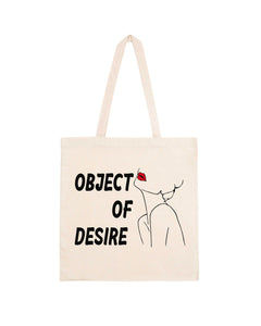 "Totebag ""Object of Desire"""