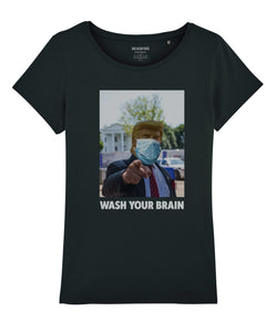 "T-shirt ""Wash Your Brain"""