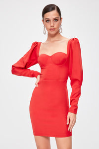 Valera Red Hot Party Dress
