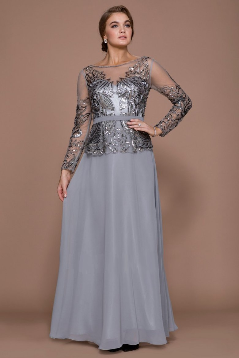 Long Mother of the Bride Dress NXQ506-Mother of the Bride Dresses | alwaysprom.com-smcfashion.com