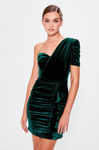 Alter Ego One Shoulder Party Dress