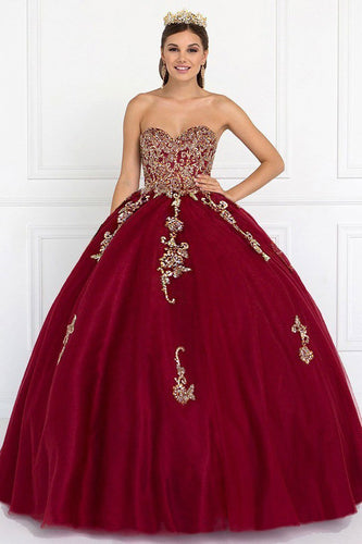 Long Ballgown Dress GSGL1560-Evening Dresses-smcfashion.com