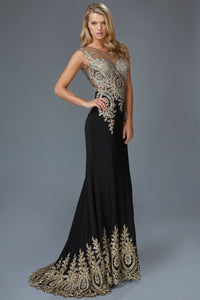 Elegant Prom Gown GSGL2166-Sale-smcfashion.com