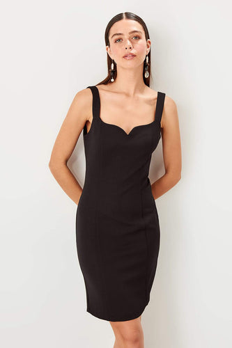 Felicity Black Party Dress