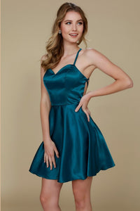 Wholesale Short Homecoming Gown NXM658-Cocktail Dresses | Plus size Cocktail Dresses-smcfashion.com