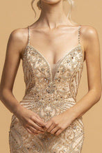 Load image into Gallery viewer, Beadatude Mermaid Formal Gown