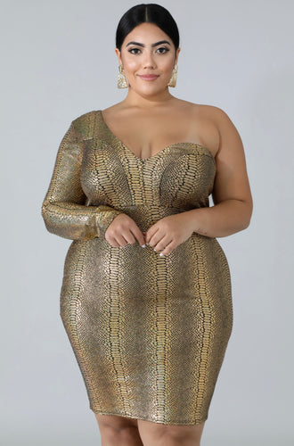 Shining Star Bodycon Dress