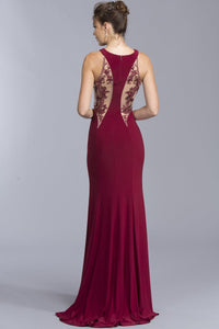 A-line Floor Length Gowns APL2020-Evening Dresses-smcfashion.com