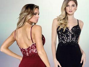 Sweetheart Beautiful Evening Gowns AC912-Evening Dresses-smcfashion.com