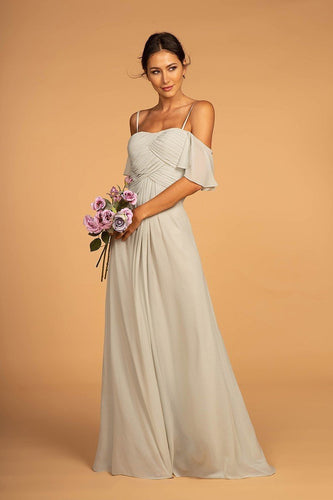 Inexpencive Long Women Beautiful Bridsmaid Chiffon Dresses GSGL2615-Bridesmaid Dresses | wholesale Bridesmaid Dresses-smcfashion.com