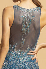 Load image into Gallery viewer, Cherish Illusion Back Mermaid Evening Gown
