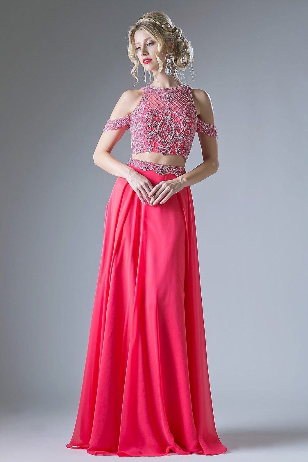 Set Celebrity Prom Gowns CD71232-Prom Dresses-smcfashion.com