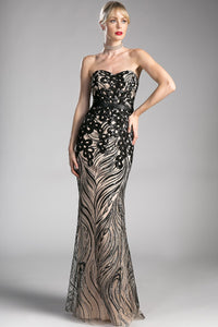 Elegant Long Formal Gowns With Sweetheart Neckline CDCD0112-Long Dresses-smcfashion.com