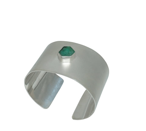 Emerald Cuff by Camille Beinhorn