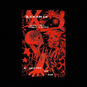"""ROMANCE"" Poster by Sonya Sombreuil , with poem by Elaine Kahn"