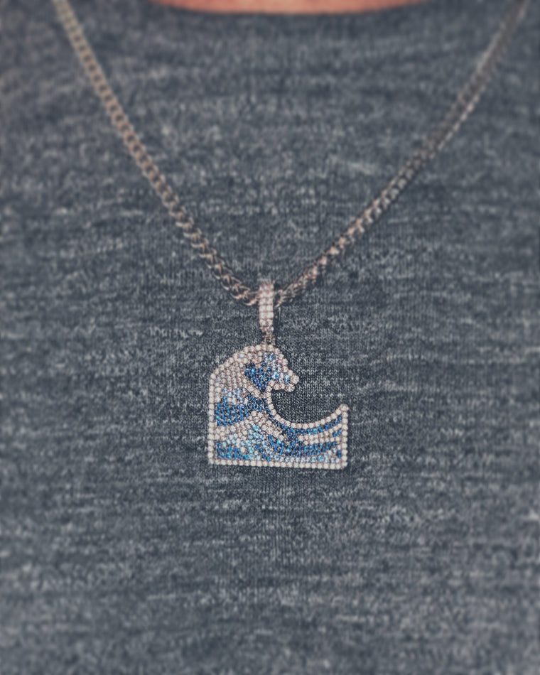 Culture of Waves Wave Pendant