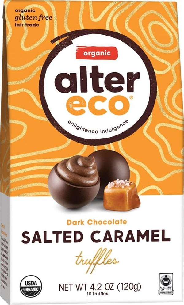 Alter Eco Chocolate Truffle Salted Caramel 120g 120g