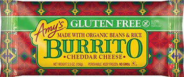 Bean & Cheese Gluten Free Burritos 156g