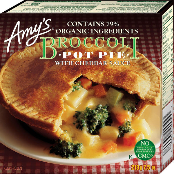 Amy's Kitchen Broccoli Cheddar Pot Pies 213g 213g