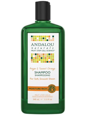 Argan & Sweet Orange Shampoo 340ml